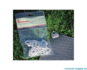 Bilde av Klemmer til teltteppe Isabella IsaGrip 4stk
