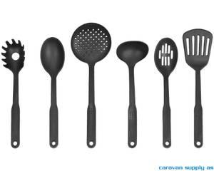 Bilde av Kjøkkenredskap Brunner Cooking Set 6 deler svart