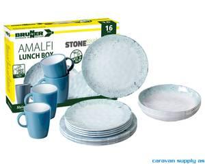 Bilde av Servise Brunner Amalfi Stonetouch Lunch Box